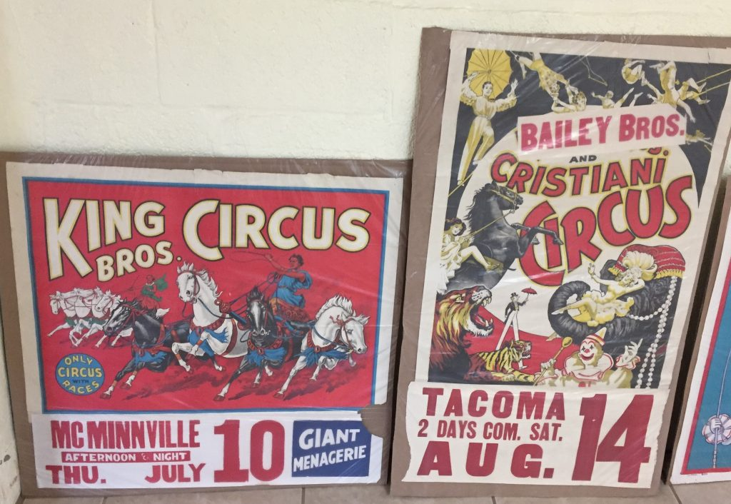 Cristiani Bros Three Ring Animal Nostalgic Circus Sign